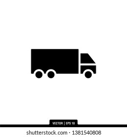 Truck Icon Vector Illustration Logo Template