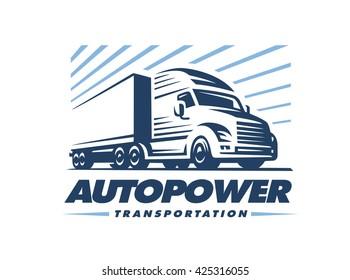 truck logo images stock photos vectors shutterstock rh shutterstock com semi truck logo cycling jersey semi truck logo design