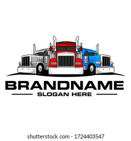 Truck logo template, Perfect logo for business related to automotive industry