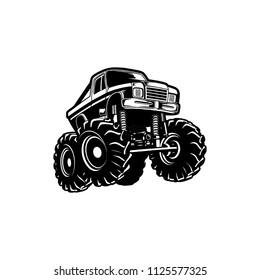 Truck Monster Logo Element