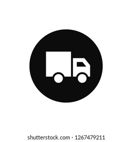 Truck rounded icon