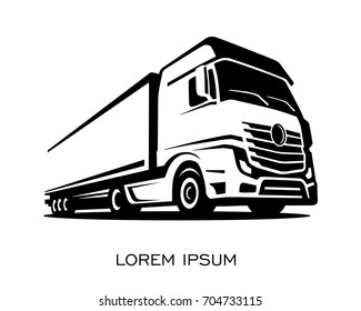 Truck Logo Images, Stock Photos & Vectors | Shutterstock