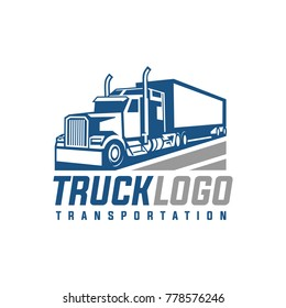 Truck Trailer Logo Transportation