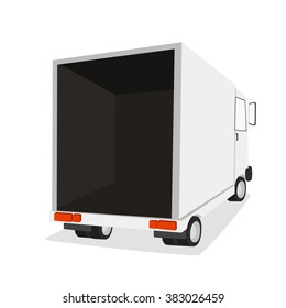 Truck for transportation cargo