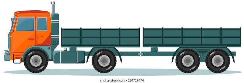 Similar Images, Stock Photos & Vectors of Garbage Truck - 143820208 ...