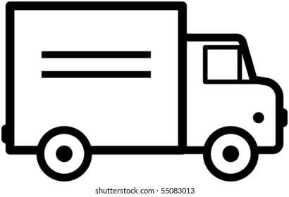 Truck - Vector illustration