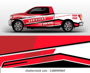 truck wrap design for company services