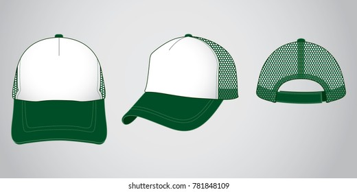 Trucker baseball cap & Net back