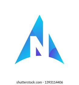 True North Icon Logo Design