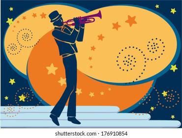 Trumpet artist