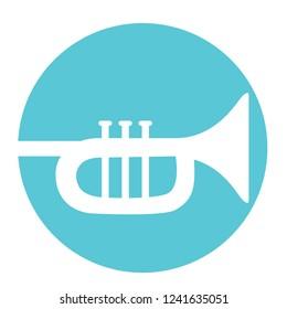 Trumpet Flaticon Vector