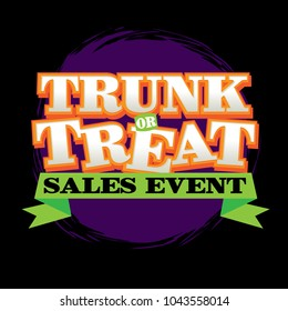 Trunk or Treat Sales Event