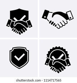 Trust Icons. Vector set