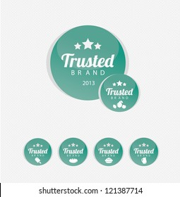 Trusted Brand icons