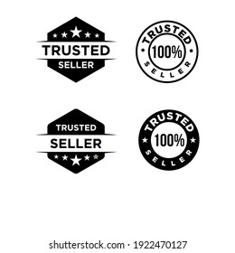 trusted seller logo icon badge
