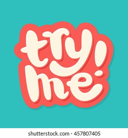 Try me icon.