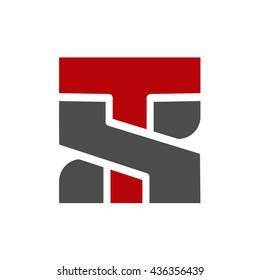 TS initial logo