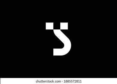 TS letter logo design on luxury background. ST monogram initials letter logo concept. TS icon design. ST elegant and Professional white color letter icon design on black background.