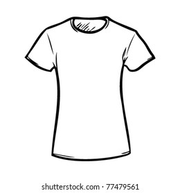 A t-shirt to color and put their own logo on.