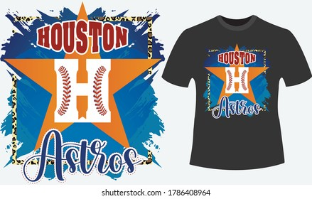 T-shirt design for baseball fans . Awesome cross stitch in the 'H'.