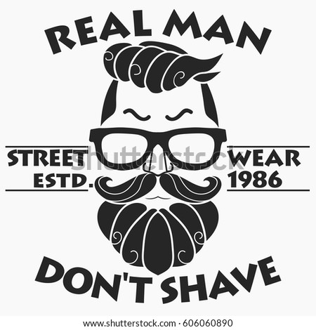 35f798b6 T-shirt Design, Hipster, Retro style print, typography emblem template.  Vector