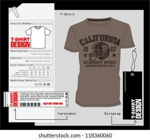 T-Shirt Design /  Vector Print Design