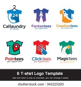 T-shirt - Fashion Logo Template Design Vector
