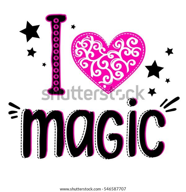 I Love Heart Magic T-Shirt