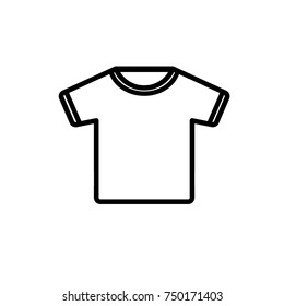 icon t shirt logo images stock photos vectors shutterstock https www shutterstock com image vector tshirt iconvector illustration flat design style 750171403