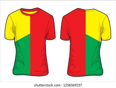 T-Shirt jersey design for textile design, sports, grapic design