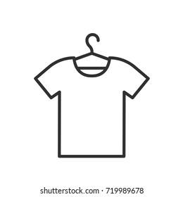 T-shirt on the hanger