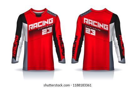 Template Jersey Motocross Images Stock Photos Vectors