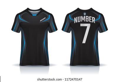 6e0f45ab2 t-shirt sport design template