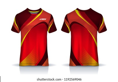 106fe0f73 t-shirt sport design template, Soccer jersey mockup for football club.  uniform front