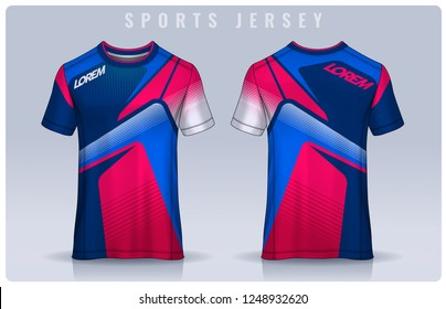 b860c8bd9c8 t-shirt sport design template, Soccer jersey mockup for football club.  uniform front