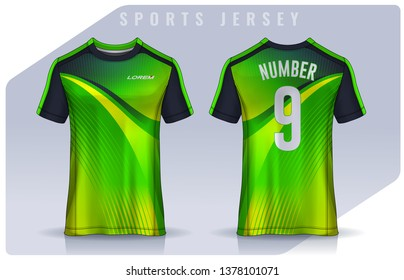 eb448278a t-shirt sport design template, Soccer jersey mockup for football club.  uniform front