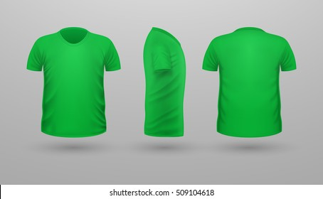 746c4efac Man with Green Shirt Stock Illustrations, Images & Vectors ...