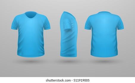 Shirts Blue Stock Vectors Images Vector Art Shutterstock