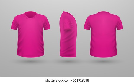 45f46e34560f Pink T-shirt Images, Stock Photos & Vectors | Shutterstock