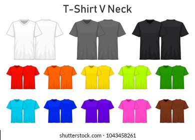 Download Mockup T Shirt Yellow Images Stock Photos Vectors Shutterstock PSD Mockup Templates