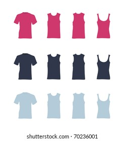 t-shirt vector templates