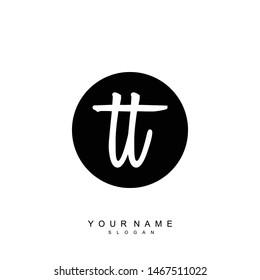 TT Initial beauty floral logo template