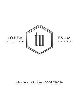 TU Initial beauty monogram logo vector