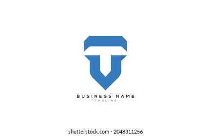 TU initials monogram letter text alphabet logo design