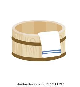 Tub and Towel