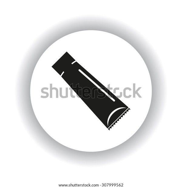 tube for cream or another cosmetic remedy. icon. vector design