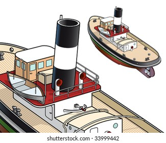 Tugboat from Falmouth