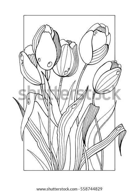 Tulip Flower Tattoo The Design Interior