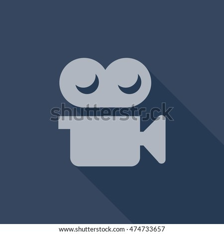 Tumblr Share Video Icon Vector Isolated Stock Vector Royalty Free