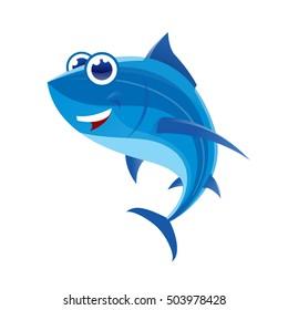 Tuna fish character.